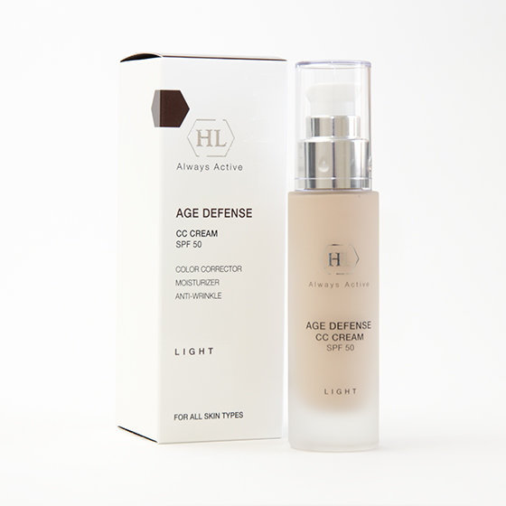 AGE DEFENSE CC CREAM SPF 50 LIGHT